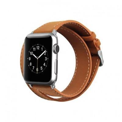 Ремешок Cozistyle Double Tour Leather для Apple Watch 42/44 мм