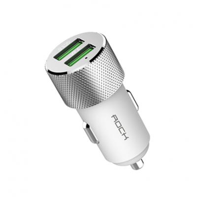 Автомобильное ЗУ ROCK Sitor QC3 Dual USB Car Charger