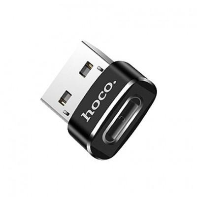 Переходник Hoco UA6 Type-C – USB купить со скидкой